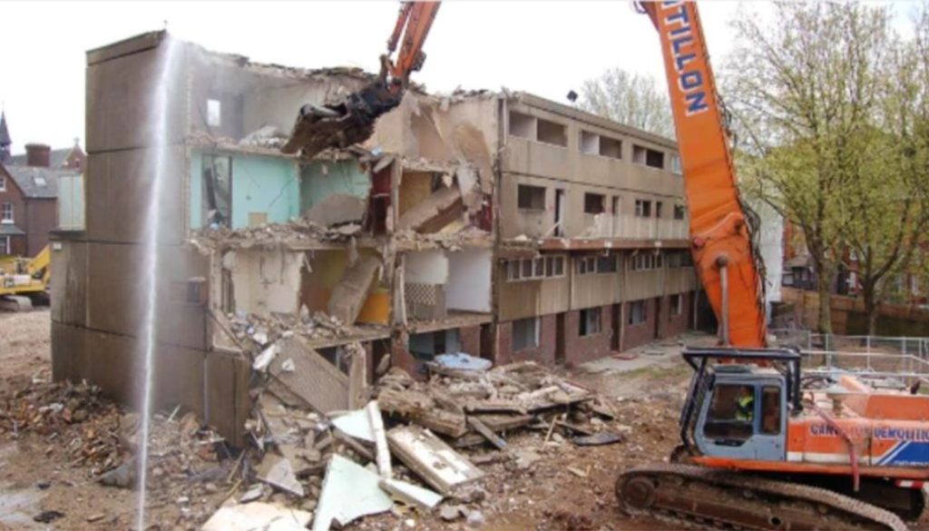 Haringey HDV demolition