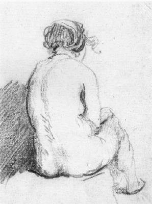 School_of_Rembrandt_ _Sitting_nude