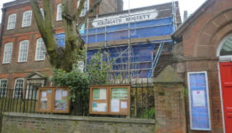 10A with scaffolding