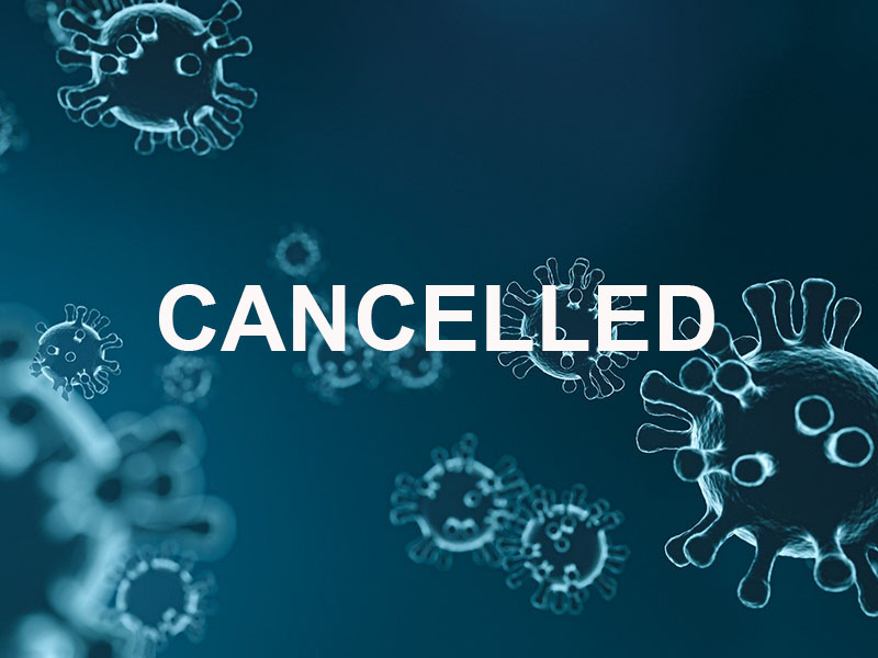 Cancelled with virus