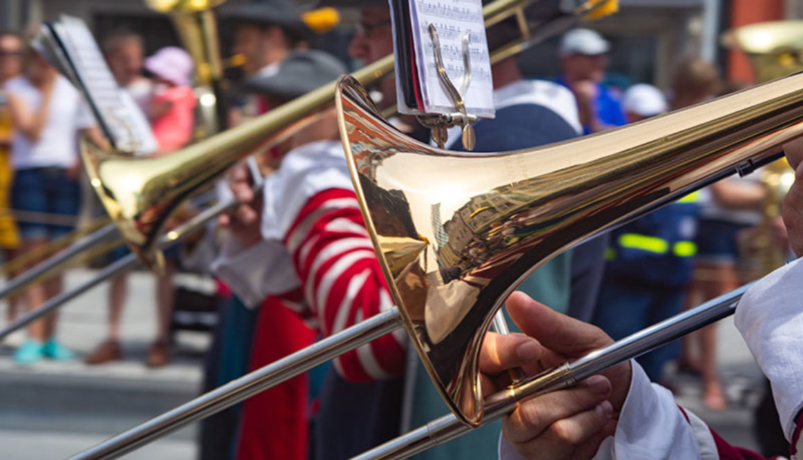 Brass band for web